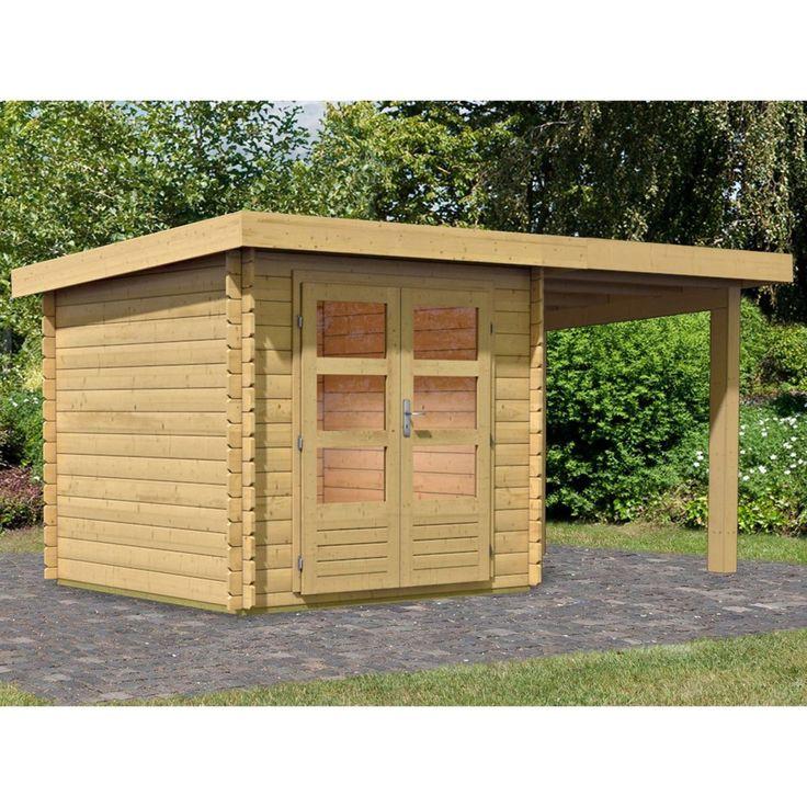 Holz-Gartenhaus Ängelholm 2 Natur Set mit 2 m Schleppdach 420 cm x 220 cm Jetzt bestellen unter: https://moebel.ladendirekt.de/garten/gartenmoebel/gartenmoebel-set/?uid=e822e4b1-a551-57c2-81b6-ecb5bde52cfb&utm_source=pinterest&utm_medium=pin&utm_campaign=boards #freizeit>gartenhäuser #garten #gartenmoebel #gartenmoebelset #zubehör>holzgartenhäuser Bild Quelle: obi.de