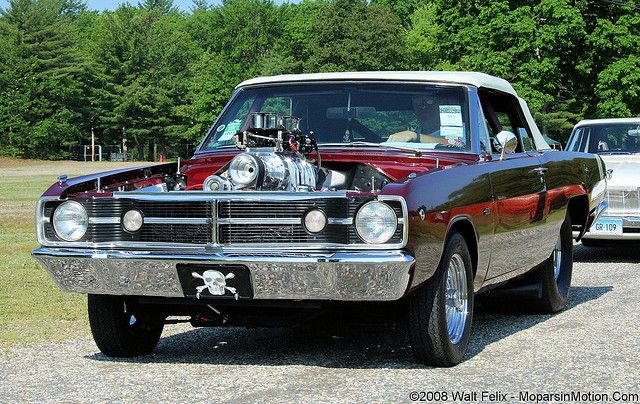"Pro Street Mopars | 1968 ""Pro Street"" Dodge Dart GTS Convertible 