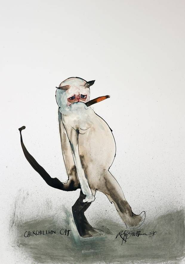 The Ralph Steadman Book of Cats is a brilliantly bonkers illustrated encycl - The Independent