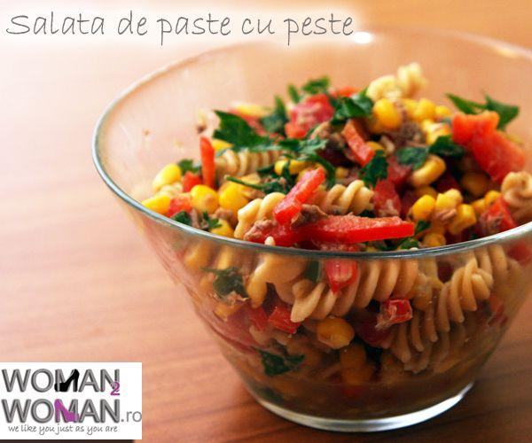 Salata de paste cu peste