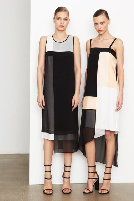 Svetlana Zakharova & Mila Krasnoiarova for DKNY, Pre-Fall...