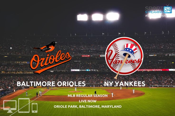 Yankees vs Orioles live stream game #mlb #Orioles  #yankees ⚾️ ❤️⠀ ⠀ Watch L!VE 📲  http://j.mp/2j8Evjv⠀ ⠀ #Birdland #nyyankees #baseball #baseballcap #yankees #orioles #mlb