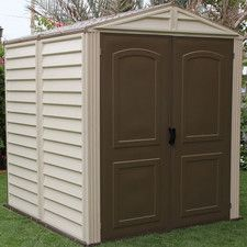StoreMate 6ft. W x 6ft. D Vinyl Storage Shed