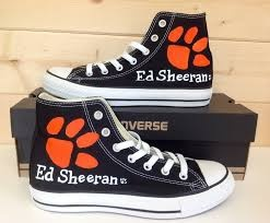 ed sheeran converse.....I literally have to have these...