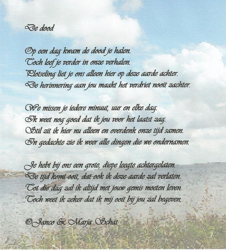 De dood door Marja Schat