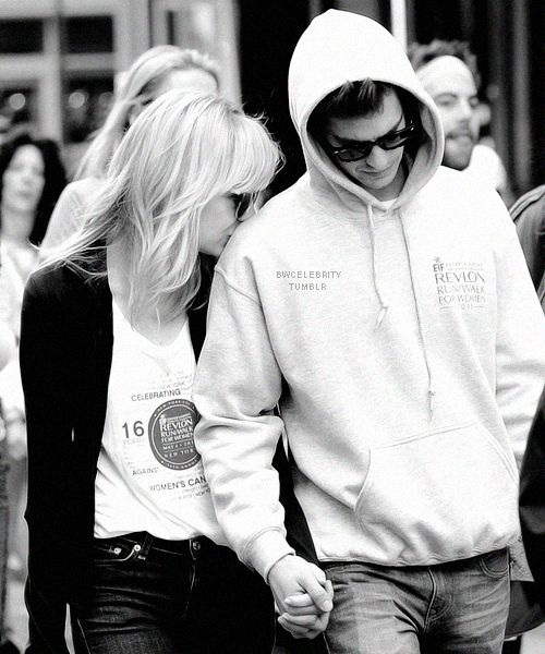 Emma Stone & Andrew Garfield, theyre so adorable they make me happy