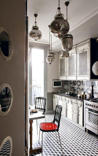 les 25 meilleures id es de la cat gorie cuisine parisienne. Black Bedroom Furniture Sets. Home Design Ideas
