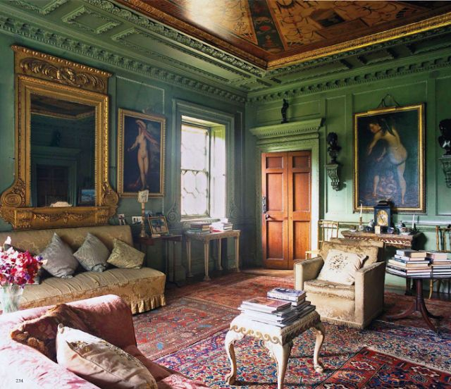 Home Interiors My House: Rousham House In Oxfordshire Was Built In 1635 & Later
