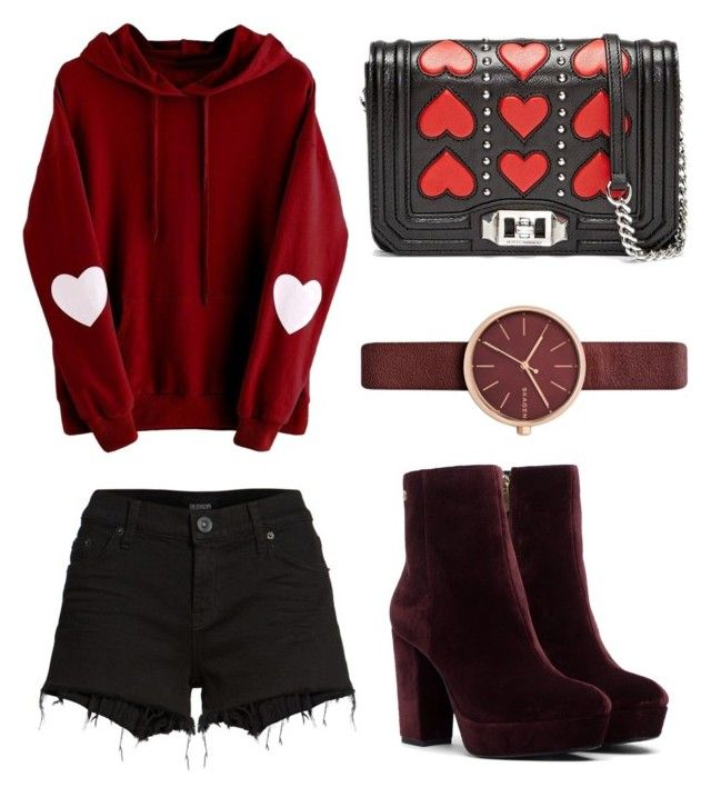 """""""Untitled #17"""" by westboorg-e on Polyvore featuring Hudson Jeans and Skagen"""