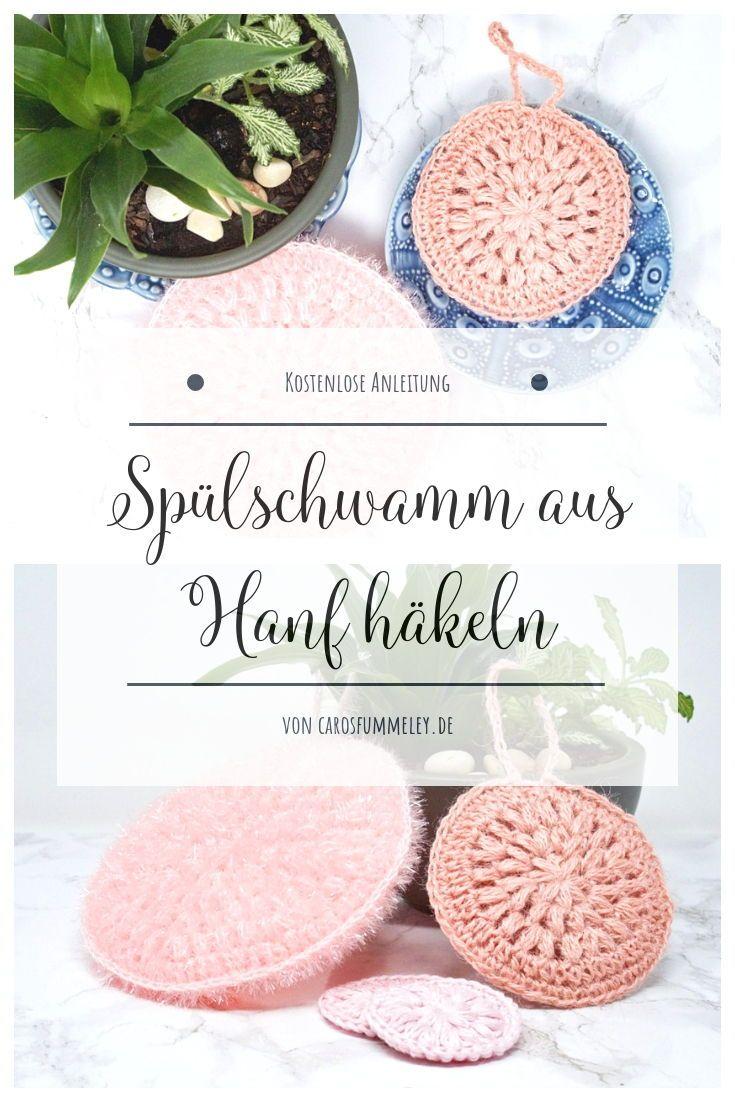 Kosmetikpads Häkeln Kostenlose Anleitung Und Banderole Zum Drucken