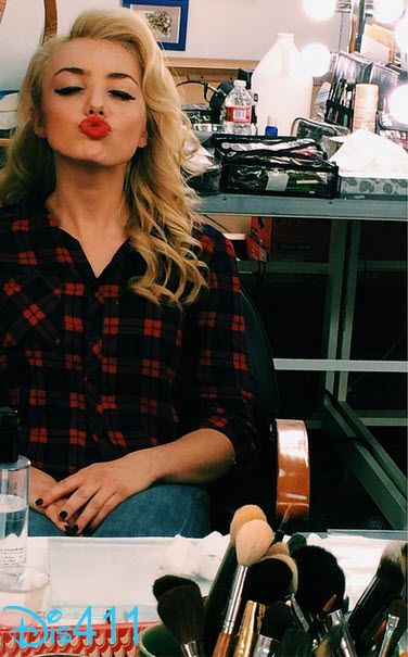 Photo: Peyton List Pretty In The Makeup Chair November 13, 2014