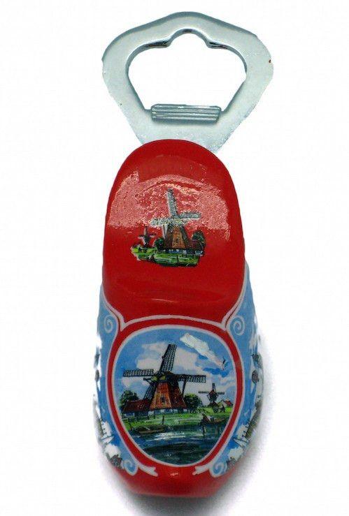 Custom Bottle Opener Wooden Shoe