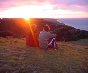 Overlooking Waitpinga in South Australia