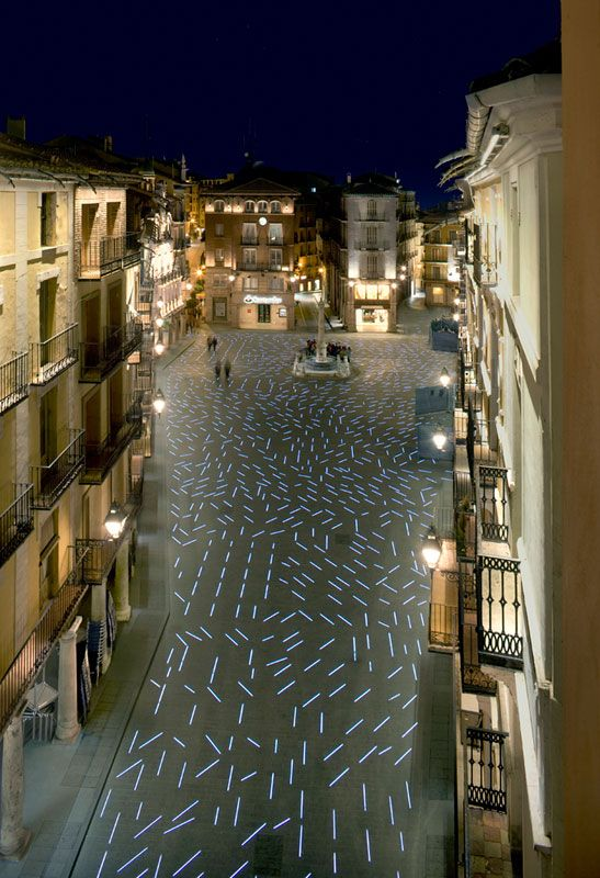 Plaza del Torico, Teruel, Spain designed by b720 Arquitectos