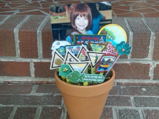 girl scouts ideas | Looking for a wonderful way to present Girl Scout badges at your next ...