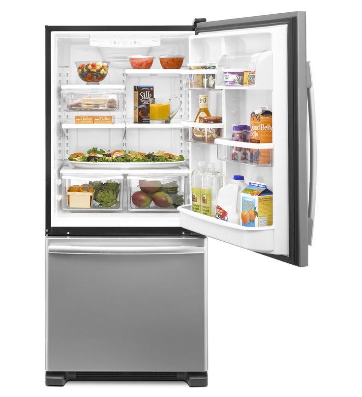 Whirlpool Gold 174 22 Cu Ft Resource Saver Bottom Freezer
