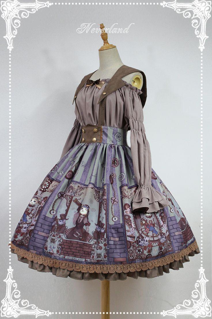 LolitaUpdate: Neverland Lolita [-✌☸-Steampunk Cat-☸✌-] Series