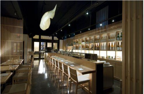 Modern Restaurant Design: Zama Restaurant by Crème