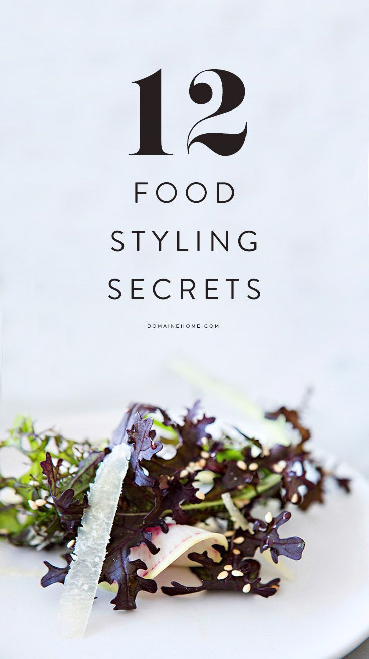 12 tips on how to style food like a pro