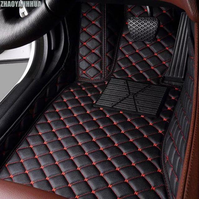 Zhaoyanhua Piso De Coche De Ajuste Personalizado Para Mercedes Benz W203 W204 W205 Clase En 2020 Alfombrillas De Coche Fundas Para Asientos De Coche Asientos De Coche