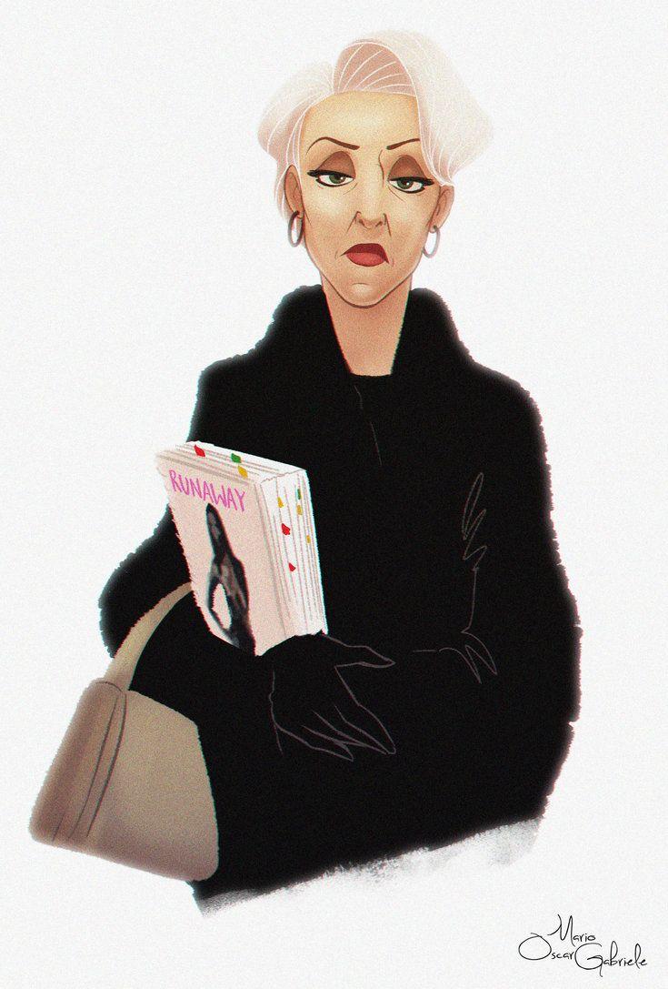 Miranda Priestley by MarioOscarGabriele on DeviantArt