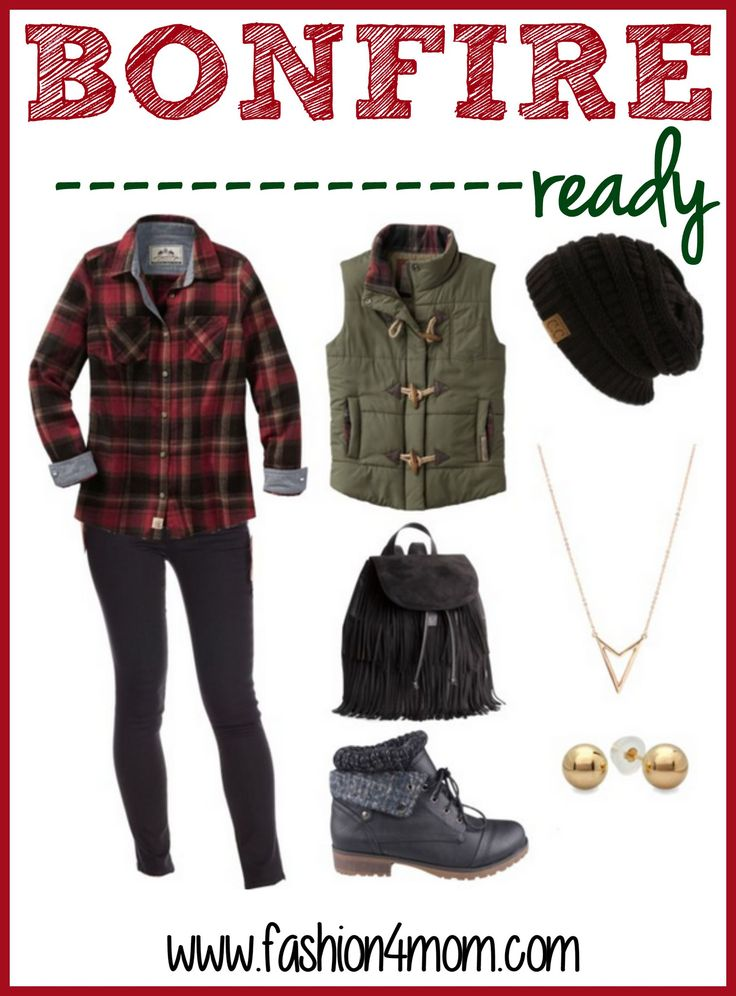 Bonfire Ready - Fall Outfit For Women - This outfit is perfect for fall!  And super budget friendly!  I love her series on cute outfits that everyone can afford!!