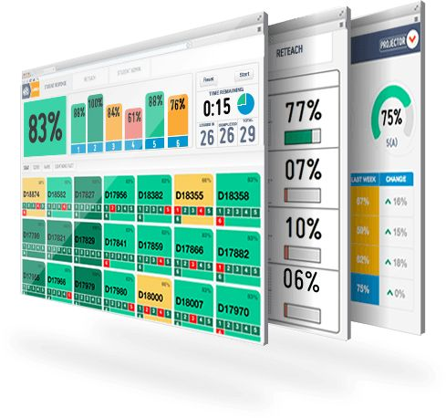 ExitTicket - is a powerful interactive student response system designed to give you detailed performance data for every student in your class....