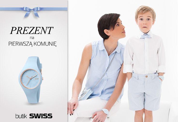 Szukasz idealnego prezentu na komunię? W butiku SWISS w Porcie Łódź znajdziesz cudowną kolekcję zegarków dla dzieci.Zapraszamy!