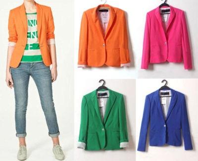 colorful blazers $25.99