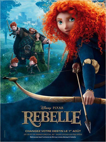Rebelle : très joli dessin animé pour les enfants