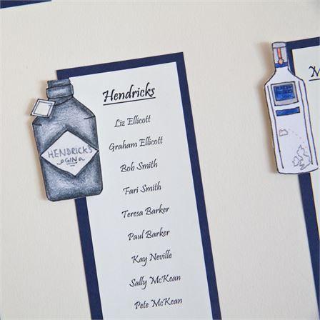 Kate and Stuart's amazing gin themed wedding #hitchedrealwedding