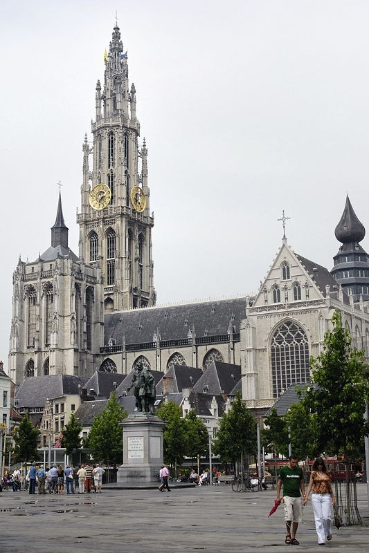 Antwerp Cathedral - Antwerpen, Antwerpen