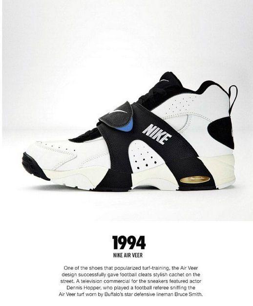 Nike Air: Nike Air Veer History