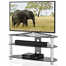 Fitueyes cristal TV Soporte para 32 A 50 pulgadas LED, LCD TV