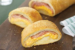 Cheesy Cheddar'n Ham Loaf. One of the day care favourites. Also make it with pepperoni and cheese!