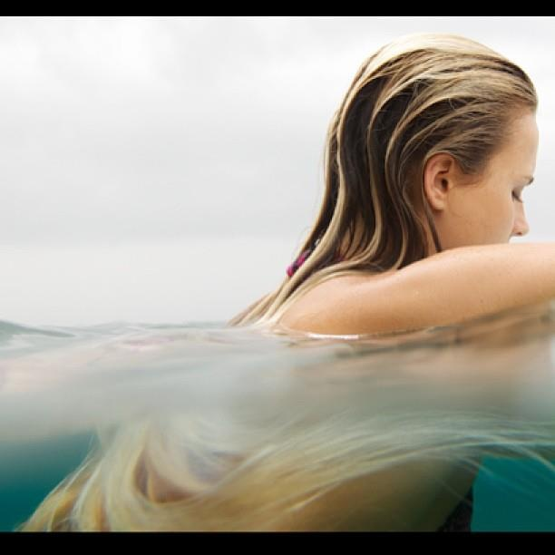 floating witht he board alana blanchard hair amp face