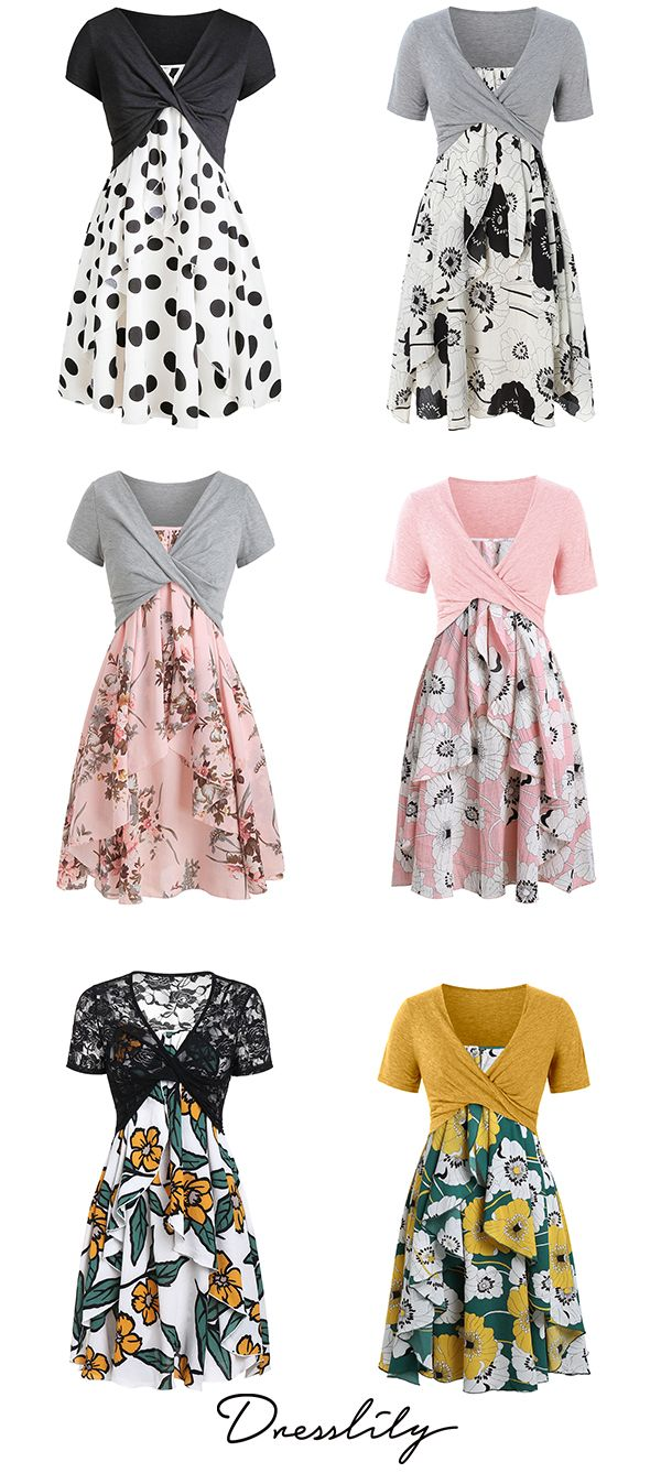 f9b2893cc5 Floral Print Layered Cami Dress With Criss Cross Crop Top.  dresslily  African Fashion Dresses