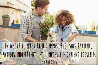 """""""Au temps, c'est l'amour impossible qui résiste le mieux."""" Monique Dussaussois"""