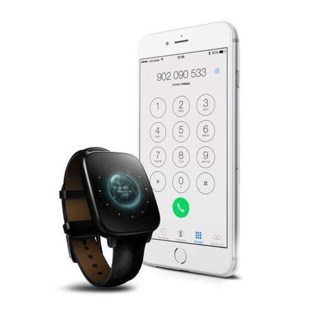. Reloj bluetooth unotec watch-bt4 negro..completo reloj bluetooth. se sincroniza con tu smartphone para mostrarte registro de llamadas, sms, reproducci�n de m�sica, notificaciones, email... adem�s, te permite aceptar y realizar llamadas c�modamente. incluy
