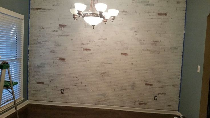 A Husband And Wife Redo Their Dining Room They Hang Faux