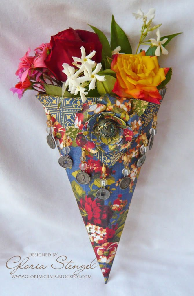 151 best tussie mussies images on pinterest paper cones for Cardboard cones for crafts