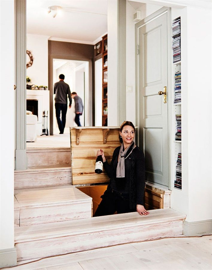 Ambiance chaleureuse dans une maison suédoise ancienne - PLANETE DECO a homes world