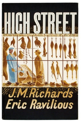 'High Street' by J.M. Richards and Eric Ravilious, 1938