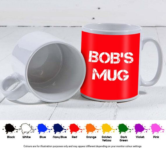 Personalised Mug 11oz  Create your own mug by HarrisonVinyls