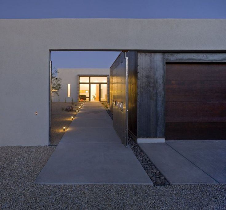 Six Courtyard Houses, Tuscon, AZ. By Ibarra Rosano Design Architects