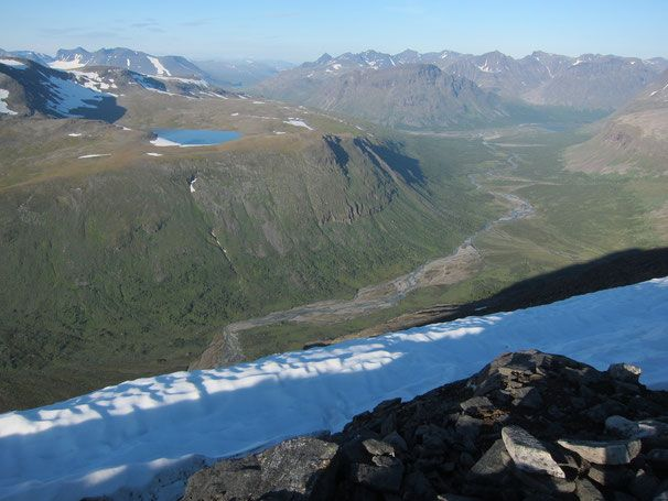 Best Trekking Sarek Sweden Images On Pinterest National - Sweden map trekking
