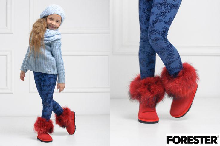Красные детские угги от украинского бренда Forester. Мировой тренд завоевавший сотни сторонников благодаря удобству и свойству сохранять тепло. #kedoffnet #footwear #shoes #ugg #uggs #baby #forester #fashion #fashionista #look #lookbook #kicksonfire #kickstagram #kick #vscocam #vsco #cute #fall #winter #street #colorful #children