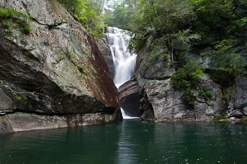 Paradise Falls - Nantahala National Forest