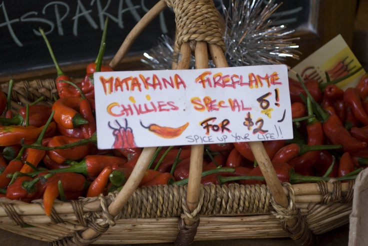 Red hot chilly peppers add flavour to your favorite recipe.    #markets #organic #auckland #matakana