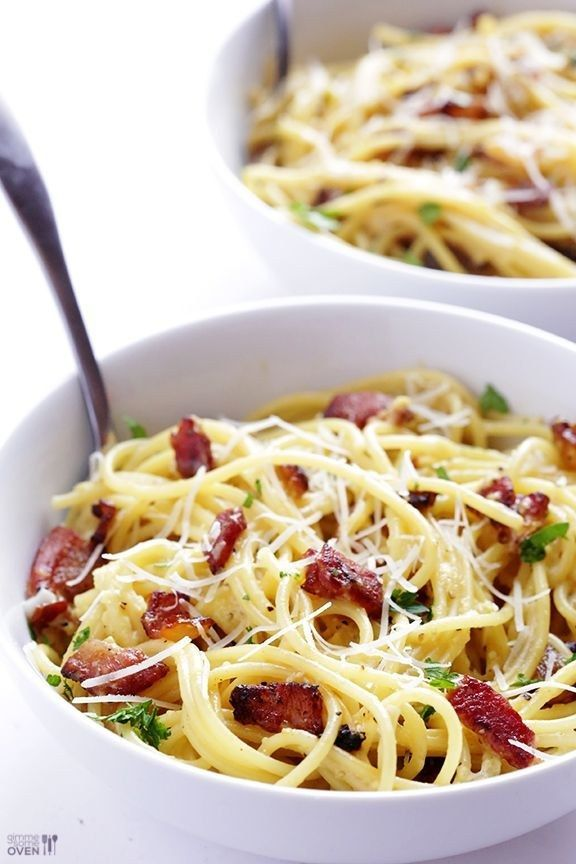 Spaghetti Carbonara | 31 Of The Most Delicious Things You Can Do To Eggs